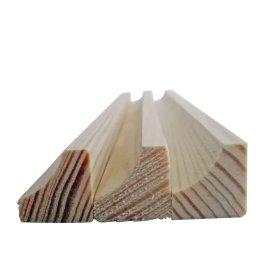 Vidinis kampas   Pušinis, masyvas, briaunuotas, matmenys 18 x 18 mm, 3 m