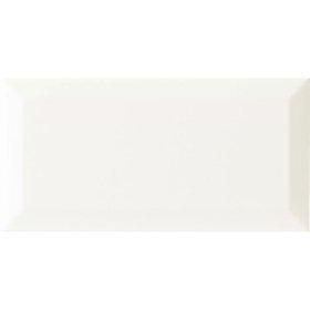 Keraminės sienų plytelės STARCO MATKEA B, 10 x 20 cm, 1,000 m2/dėž., baltos matinės sp., Indija