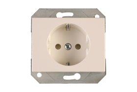 Kištukinis lizdas VILMA RP16-002-22 XP500, baltos sp. su apsauga b/r