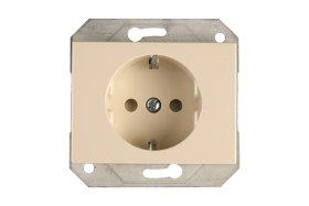 Kištukinis lizdas VILMA RP16-002-02 XP500, smėlio sp. b/r su įž.