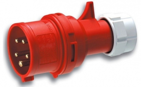 Kištukas su įž. ABL ABL 3P+N+E 6h, 32A 400V IP44 (S52S30) L, 0008970