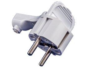 Kištukas ELECTRALINE, su įž., 16A 2P+T, baltos spalvos, 55043