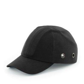Kepurė su snapeliu, su apsauga nuo smūgių  GKA8200 juoda.