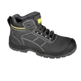 Darbo batai LAHTI PRO, CE, oda NUBUK, juodos-geltonos spalvos, S3 SRC 44d.