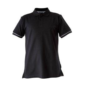 Marškinėliai LAHTI PRO, 2XL, polo, juodi 220g