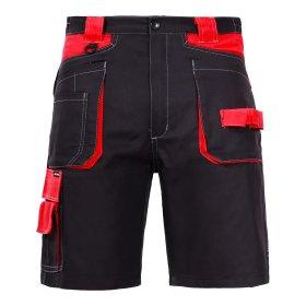 Darbo šortai LAHTI PRO, XL, juoda-raudona, CE