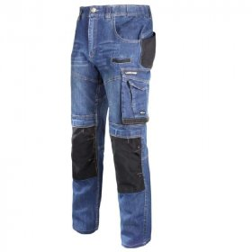 Kelnės LAHTI, CE, džinsinės su sutvirtinimais, XL