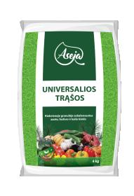 Trąšos universalios pavasariniam tręšimui ASEJA  4kg (NPK 11-10-16)