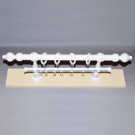 Sieninis karnizas STANDART Su plastikiniais galais