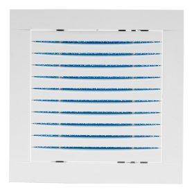 Plastikinės grotelės - revizinės durelės 200x200 HYBRYD HR2020 Su filtru