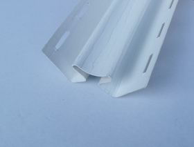 Vidinis PVC kampas S 13 SIDING BOR Ilgis 3,05 m, baltos spalvos