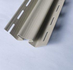 Vidinis PVC kampas S 13 SIDING BOR  Ilgis 3,05 m, smėlio spalvos