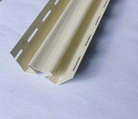 Vidinis PVC kampas S 13 SIDING BOR  Ilgis 3,05 m, kremo spalvos