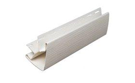 Išorinis PVC kampas S 12 SIDING BOR  Ilgis 3,05 m, baltos spalvos