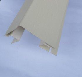 Išorinis PVC kampas S 12 SIDING BOR  Ilgis 3,05 m, kremo spalvos