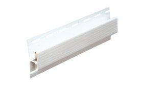 PVC sujungimo profilis S 18 SIDING BOR  Ilgis 3,81 m, baltos spalvos