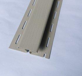 PVC sujungimo profilis S 18 SIDING BOR  Ilgis 3,81 m, smėlio spalvos