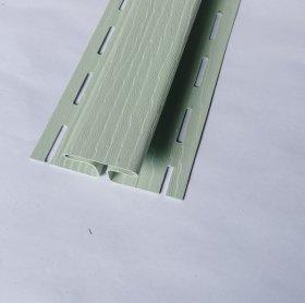 PVC sujungimo profilis S 18 SIDING BOR  Ilgis 3,81 m, šviesios žalios spalvos