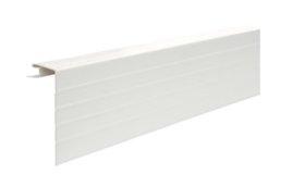 Palanginis PVC kampas S 20 SIDING BOR  Ilgis 3,39 m, baltos spalvos