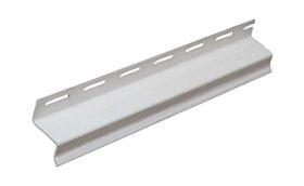PVC S tipo profilis S 16 SIDING BOR  Ilgis 3,81 m, baltos spalvos