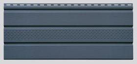 PVC pakalimo dailylentė SIDING BOR Perforuota Matmenys 0,305 x 3,39 m, grafito spalvos, 1 lentelė - 1,03395 m2