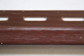 PVC J tipo profilis S 15 SIDING BOR  Ilgis 3,81 m, rudos spalvos