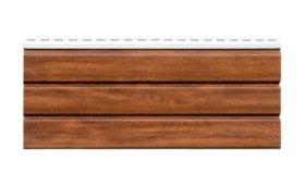 PVC pakalimo dailylentė SIDING BOR Neperforuota Matmenys 0,305 x 3,39 m, auksinio ąžuolo spalvos, 1 lentelė - 1,03395 m2
