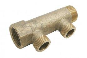 Kolektorius, žalvarinis SOBIME, 35mm, 3/4'', 2 žiedų, 241580