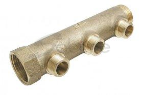 Kolektorius, žalvarinis SOBIME, 35mm, 3/4'', 3 žiedų, 241581
