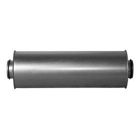 Triukšmo slopintuvas d125, L-0,9 m  SRS125-0,9 Cinkuotas su tarpine