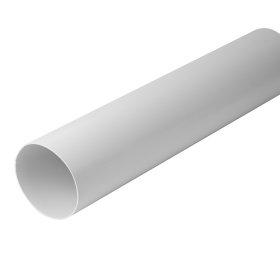Ortakis d100, L-1,5 m  A100-1,5 Ventiliacinis, plastikinis, baltas