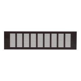 Grotelės 100 x 400RA1040B Ventiliacinės, aliuminės, bronzinės spalvos