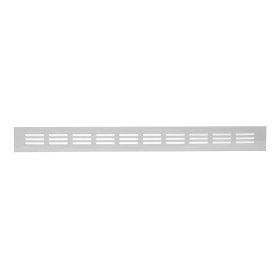 Grotelės 40 x 300 RA430 Ventiliacinės, aliuminės, baltos spalvos