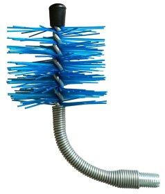 Šepetys S.A.E, granulinių krosnių, nailono, lankstus, d80, FB80