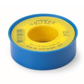 Tefloninė sandarinimo juostelė UNITAPE 12 m x 12 mm x 0,075 mm