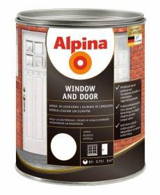 Alkidiniai dažai EXAP Windows and Doors XB 0,75 l