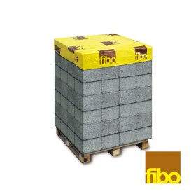 Blokeliai keramzitiniai  Fibo 3MPa  Matmenys 185 x 200 x 490 mm
