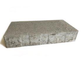 Trinkelė grindinio BRIKERS DOMINO-5  Pilka, Matmenys 280 x 140 x 50 mm, be nuožulų