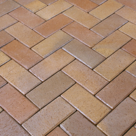 Trinkelė grindinio WIENERBERGER Florenz Bunt Matmenys 200 x 100 x 45 mm, 1 m² - 48 vnt   UŽS