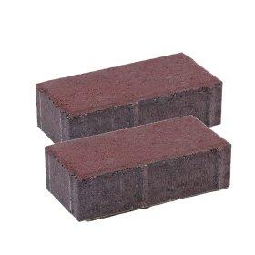 Trinkelė grindinio BRIKERS  Ruda, matmenys 200 x 100 x 50 mm, 1 m² - 50 vnt