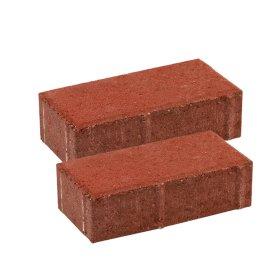 Trinkelė grindinio BRIKERS  Raudona, matmenys 200 x 100 x 50 mm, 1 m² - 50 vnt