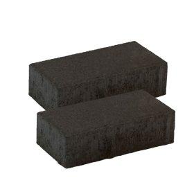 Trinkelė grindinio BRIKERS  Juoda, matmenys 200 x 100 x 50 mm, 1 m² - 50 vnt