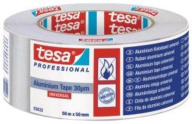 Aliuminio juosta TESA, 50 mm x 50 m