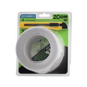 Sandarinimo juosta ZOOM, 19 mm x 19 mm x 3,2 m, baltos sp., su peiliuku