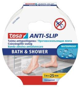 Slydimą mažinanti juosta TESA BATH&SHOWER