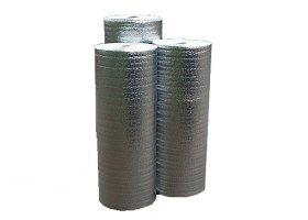 Pūsta polietileno plėvelė REFLEKT 5 mm storio, 1,20 x 50 m, metalizuotas, 20 kg/m³ tankio