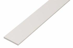 Plastikinis profilis, baltos sp., Matmenys 20 x 2,0 x 1000 mm, 479381