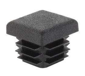 Kaištis kvadratiniam PVC vamzdžiui, 4 vnt. 25 mm, juodos spalvos, 426729