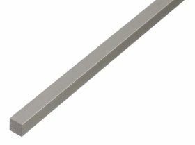 Aliuminio profilis kvadratinis pilnaviduris Matmenys 10 x 10 x 1000 mm, 470098