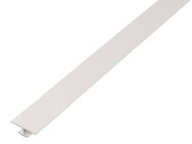 Plastikinis sujungimo profilis H formos Matmenys 1 x 6 x 25 x 1000 mm, baltos spalvos, 484705